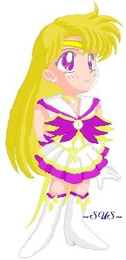 Sailor Astera - Otaku Senshi: Sailor Astera Art